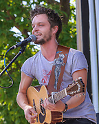 Tallest Man on Earth, Kristian Matsson, photo by Mara Robinson at Pitchfork Music Festival, Friday July 16, 2010 at Union Park  by Cleveland Music Photographer Mara Robinson