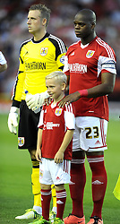 Mascot  - Photo mandatory by-line: Joe Meredith/JMP - Tel: Mobile: 07966 386802 04/09/2013 - SPORT - FOOTBALL -  Ashton Gate - Bristol - Bristol City V Bristol Rovers - Johnstone Paint Trophy - First Round - Bristol Derby