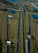 Aerial view of Roadway or Highway