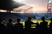 January 12, 2015 - Havana, Cuba. Fans slowly fill the famed Estadio Latinoamericano for the first game of the series between Havana's Industriales and their rivals from Matanzas. 01/12/2015 Photograph by Joseph Swide/NYCity Photo Wire