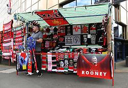 Wayne Rooney merchandise on sale outside Old Trafford - Mandatory by-line: Matt McNulty/JMP - 17/09/2017 - FOOTBALL - Old Trafford - Manchester, England - Manchester United v Everton - Premier League