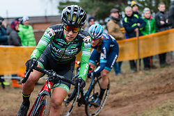 GONZALEZ BLANCO Lucia (ESP) during Women Elite race, 2019 UCI Cyclo-cross World Cup Heusden-Zolder, Belgium, 26 December 2019.  <br /> <br /> Photo by Pim Nijland / PelotonPhotos.com <br /> <br /> All photos usage must carry mandatory copyright credit (Peloton Photos | Pim Nijland)