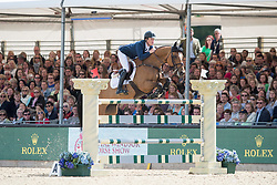 Brash Scott, GBR, Ursula XII<br /> Rolex Grand Prix Jumping<br /> Royal Windsor Horse Show<br /> © Hippo Foto - Jon Stroud
