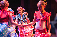 Students of Camino del Flamenco perform their Summer Show at the Cornerstone, Didcot under the auspices of Principal Rosi Reed.Camino del Flamenco is an Oxford based school that teaches flamenco to all ages throughout the county. Photo credit Carole Edrich