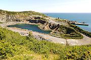 Dean Quarry,  near St Keverne; Lizard Peninsula, Cornwall, England, UK