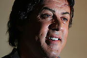 Potrait of Syvester Stallone at the Four Seasons. (David Swanson/Inquirer ) 12-03-2006 Philadelphia, PA DHDROCKY17 David talks to Sly. Movie opens Friday. Reporter is Hiltbrand. 2 of 2.