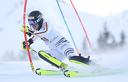 28.01.2018, Lenzerheide, SUI, FIS Weltcup Ski Alpin, Lenzerheide, Slalom, Damen, 1. Lauf, im Bild Marina Wallner (GER) // Marina Wallner of Germany in action during her 1st run of ladie's Slalom of FIS ski alpine world cup in Lenzerheide, Austria on 2018/01/28. EXPA Pictures © 2018, PhotoCredit: EXPA/ Sammy Minkoff<br /> <br /> *****ATTENTION - OUT of GER*****