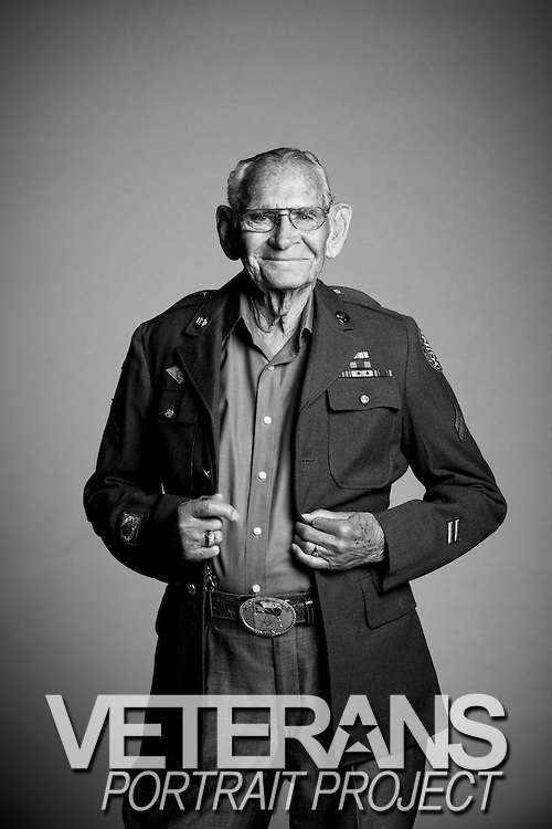 "Born in 1918, Cyrus H. Avey, Jr. lived and worked as a tinsmith in Texas. He married and had a family before he decided to enlist in the Army Air Corps from Fort Sam Houston in Texas on April 13, 1944. ""I served as a Military Policeman,"" said Avey. ""After the war, I went back home to work at Kelly Field in Texas.""<br />