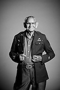 Born in 1918, Cyrus H. Avey, Jr. lived and worked as a tinsmith in Texas. He married and had a family before he decided to enlist in the Army Air Corps from Fort Sam Houston in Texas on April 13, 1944. &ldquo;I served as a Military Policeman,&rdquo; said Avey. &ldquo;After the war, I went back home to work at Kelly Field in Texas.&rdquo;<br /> <br /> Veterans Portrait Project<br /> Colorado Springs, CO