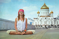 Yoga in Moscow Project in partnership with Yoga Journal Russia