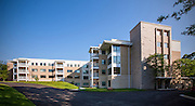 Architectural Exterior image of the Edgewood Apartment building at the Charlestown Senior Living Community in Catonsville, MD by Jeffrey Sauers of Commercial Photographics