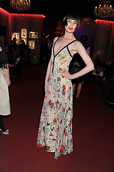 ERIN O'CONNOR at a party hosted by Roberto Cavalli to celebrate his new Boutique's opening at 22 Sloane Street, London followed by a party at Battersea Power Station, London SW8 on 17th September 2011.