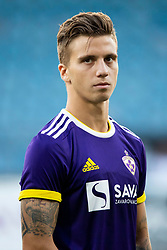 Luka Zahovic of NK Maribor during 2nd Leg football match between NK Maribor and FK Partizani Tirana in 1st Qualifying Round of UEFA Europa League 2018/18, on July 19, 2018 in Ljudski vrt, Maribor, Slovenia. Photo by Urban Urbanc / Sportida
