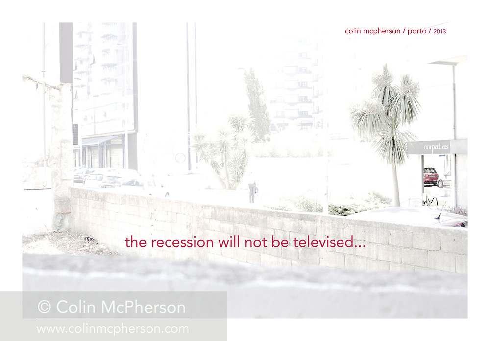 'Empathy 60% off, 2013', from 'The Recession Will Not Be Televised' by Colin McPherson, a body of photographic work which looks at the visual representation of the ongoing economic crisis in Porto, Portugal.<br /> <br /> Colin McPherson is a photographer and visual artist born in Scotland in 1964. He works internationally on assignments, commissions and projects. He lives in the north west of England.