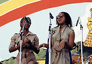Althea & Donna at Reggae Sunsplash 1978