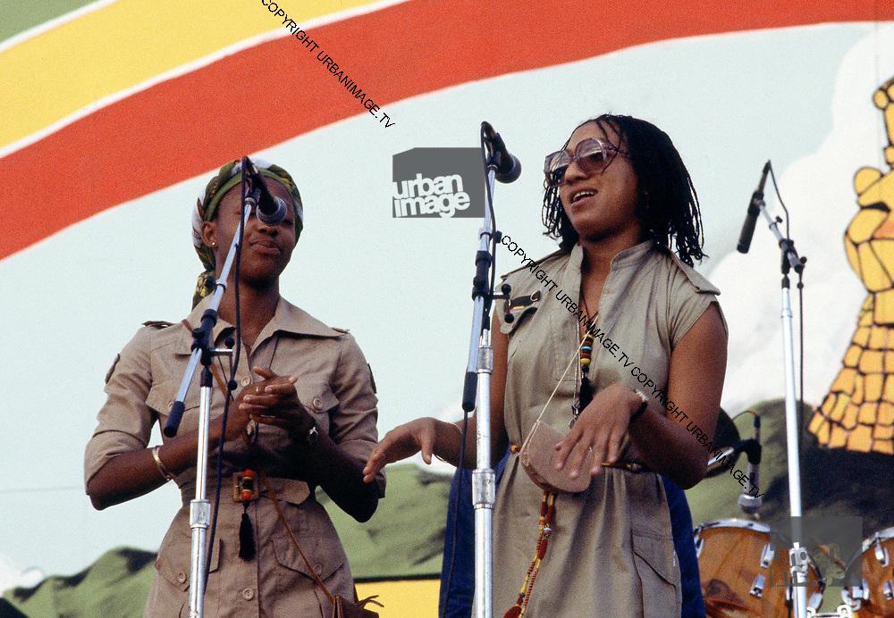Althea & Donna at Reggae Sunsplash 1978