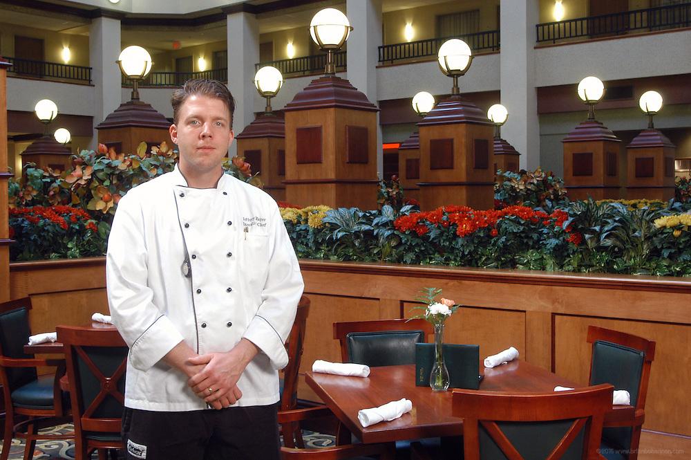 Embassy Suites, Lexington, Ky.: Jeffrey Mayer, Executive Chef.
