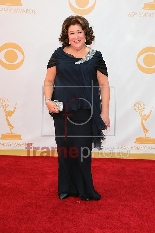 """*BRAZIL ONLY *ATENÇÃO EDITOR, IMAGEM EMBARGADA PARA VEÍCULOS INTERNACIONAIS* wenn20690476 - Los Angeles, EUA - 22//09/2013 - Margo Martindale chegam para a cerimônia de entrega do 65o Emmy Awards, considerado o """"Oscar da televião"""", realizado na tarde de hoje (22/09) no Nokia Theatre L.A., em Los Angeles, EUA. Foto: Adriana M. Barraza/Wenn/Frame"""