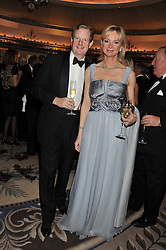 The EARL & COUNTESS OF DERBY at the 21st Cartier Racing Awards held at The Dorchester, Park Lane, London on 15th November 2011.