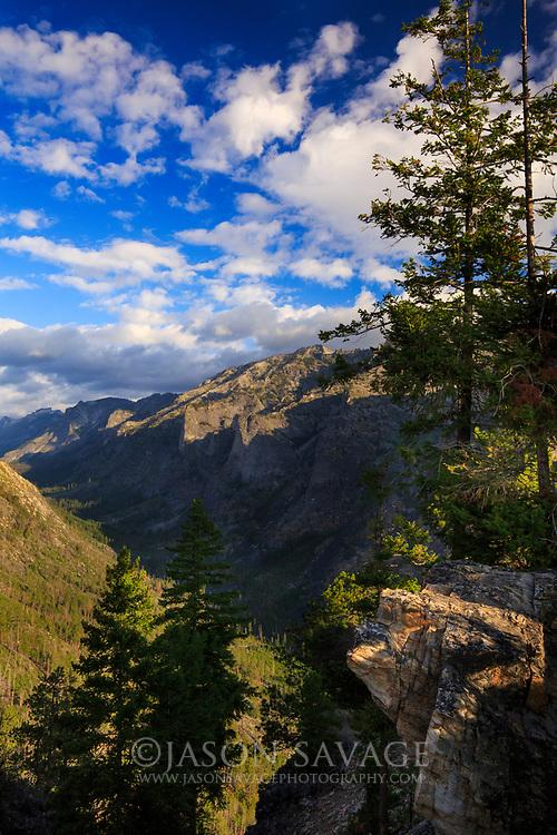 Blodgett Canyon, Bitteroor Valley.
