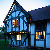 Medieval town house at Avoncroft Museum