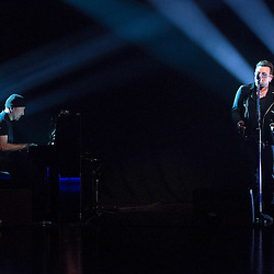 U2 on the RTÉ Late Late Show