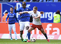 v.l. Wilson Kamavuaka, Lewis Holtby (HSV)<br /> Hamburg, 22.04.2017, Fussball Bundesliga, Hamburger SV - SV Darmstadt 98 1:2<br /> <br /> Norway only