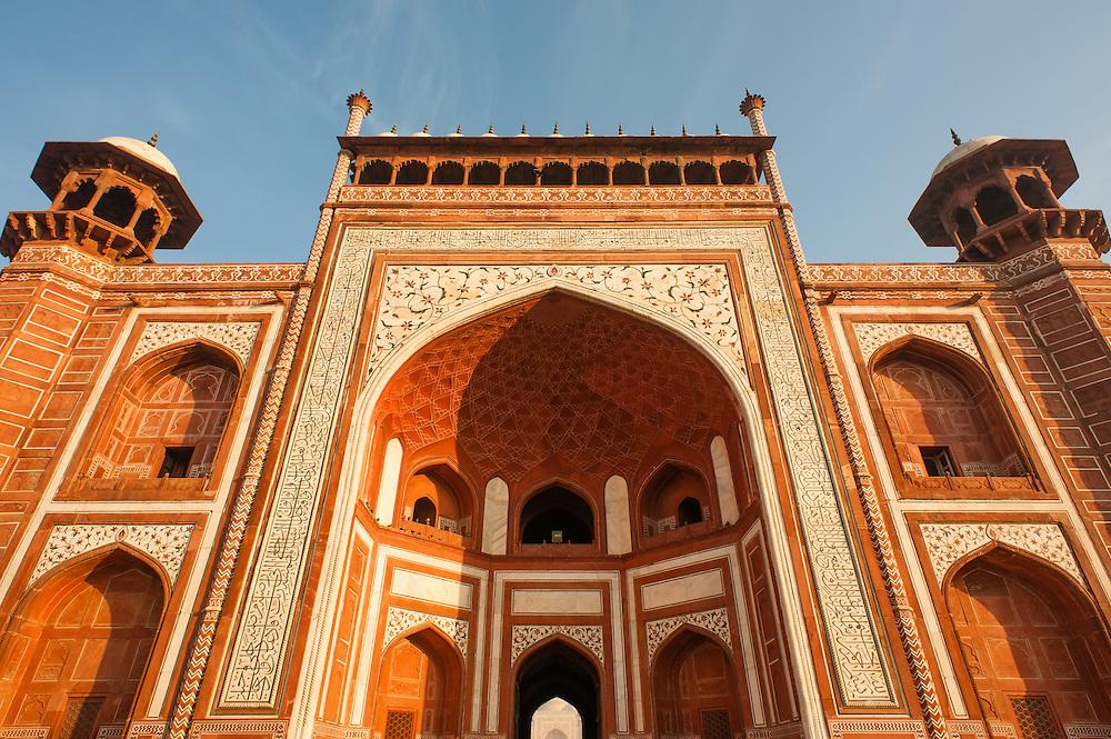 Taj Mahal gate (India)