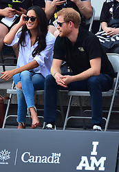 Prince Harry and Girlfriend Meghan Markle attends Invictus Games Wheel Chair tennis in Downtown Toronto Canada. 25 Sep 2017 Pictured: Prince Harry and Meghan Markle. Photo credit: 246paps/MEGA TheMegaAgency.com +1 888 505 6342