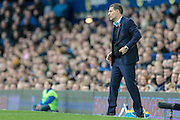 Slaven Bilic (Manager) (West Ham United) during the Premier League match between Everton and West Ham United at Goodison Park, Liverpool, England on 30 October 2016. Photo by Mark P Doherty.