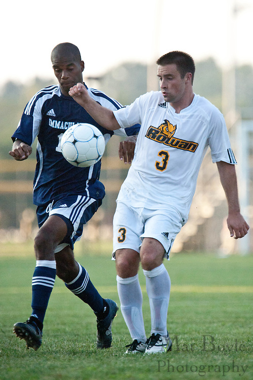 2010-09-01: Rowan University defeats Immaculata University in overtime during the opening match of the season.
