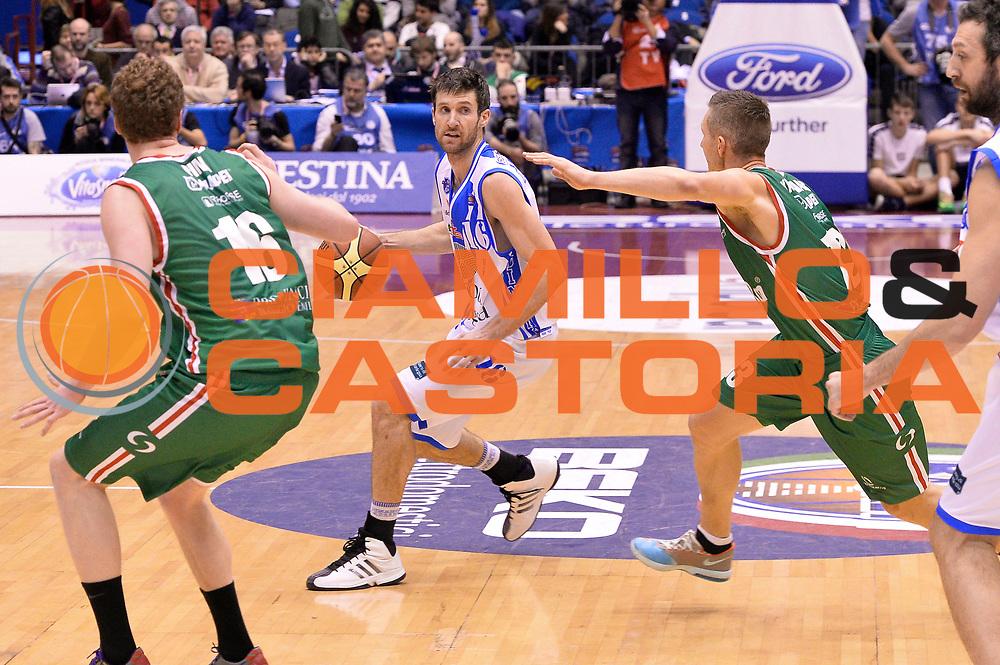 DESCRIZIONE : Milano Coppa Italia Final Eight 2014 Semifinale Banco di Sardegna Sassari Grissin Bon Reggio Emilia<br /> GIOCATORE : Drake Diener<br /> CATEGORIA : Palleggio<br /> SQUADRA : Banco di Sardegna Sassari<br /> EVENTO : Beko Coppa Italia Final Eight 2014<br /> GARA : Banco di Sardegna Sassari Grissin Bon Reggio Emilia<br /> DATA : 08/02/2014<br /> SPORT : Pallacanestro<br /> AUTORE : Agenzia Ciamillo-Castoria/R.Morgano<br /> Galleria : Lega Basket Final Eight Coppa Italia 2014<br /> Fotonotizia : Milano Coppa Italia Final Eight 2014 Semifinale Banco di Sardegna Sassari Grissin Bon Reggio Emilia<br /> Predefinita :