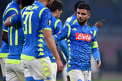 February 21, 2019 - Naples, Naples, Italy - Lorenzo Insigne of SSC Napoli during the UEFA Europa League Round of 32 Second Leg match between SSC Napoli and FC Zurich at Stadio San Paolo Naples Italy on 21 February 2019. (Credit Image: © Franco Romano/NurPhoto via ZUMA Press)