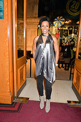 DAME KELLY HOLMES at the opening night of Amaluna by Cirque Du Soleil at The Royal Albert Hall, London on 19th January 2016.