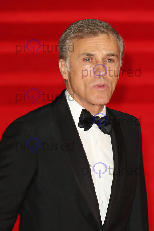 Christoph Waltz, Bond: Spectre - World Premiere & Royal Film Performance, Royal Albert Hall, London UK, 26 October 2015, Photo by Richard Goldschmidt