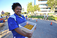 BELLVILLE, SOUTH AFRICA - Wednesday 3 December 2014, 1200 numbers container during the Metropolitan 10km road race outside the Parc Du Cap head office in Bellville.<br /> Photo by IMAGE SA / Roger Sedres