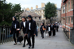 UK ENGLAND CAMBRIDGE 6SEP16 - 6th form students from east London visit Cambridge universities and city centre.<br /> <br /> jre/Photo by Jiri Rezac<br /> <br /> © Jiri Rezac 2016