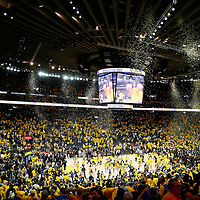 04 June 2017: General view of the Oracle Arena following the Golden State Warriors 132-113 victory over the Cleveland Cavaliers, in game 2 of the 2017 NBA Finals, at the Oracle Arena, Oakland, California, USA.