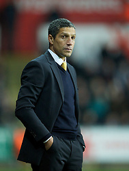 08.12.2012, Liberty Stadion, Swansea, ENG, Premier League, Swansea City vs Norwich City, 16. Runde, im Bild Norwich City's manager Chris Hughton during the English Premier League 16th round match between Swansea City AFC and Norwich City FC at the Liberty Stadium, Swansea, Great Britain on 2012/12/08. EXPA Pictures © 2012, PhotoCredit: EXPA/ Propagandaphoto/ David Rawcliffe..***** ATTENTION - OUT OF ENG, GBR, UK *****