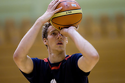 Goran Dragic - Gogi during practice session of Slovenian National Basketball team during training camp for Eurobasket Lithuania 2011, on July 12, 2011, in Arena Vitranc, Kranjska Gora, Slovenia. (Photo by Vid Ponikvar / Sportida)