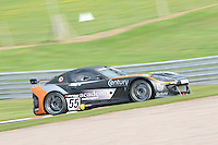 #55 Oli Basey-Fisher/Matt Nicoll-Jones - Academy Motorsport, Ginetta G55 GT4 during qualifiying seaaion one for the Avon Tyers British GT Championship at Oulton Park, Little Budworth, Cheshire, United Kingdom. April 19 2014. World Copyright Peter Taylor/PSP. Copy of publication required for printed pictures.  Every used picture is fee-liable. http://archive.petertaylor-photographic.co.uk