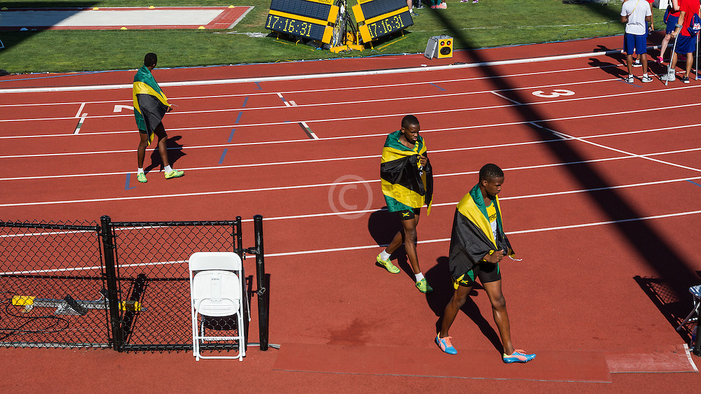 Jamaica 4x400 realy team
