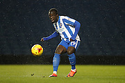Elvis Manu during the EFL Trophy Southern Group G match between U23 Brighton and Hove Albion and Leyton Orient at the American Express Community Stadium, Brighton and Hove, England on 8 November 2016.