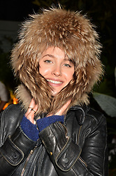 Tess Ward at The Ivy Chelsea Garden's Guy Fawkes Party, 197 King's Road, London, England. 05 November 2017.