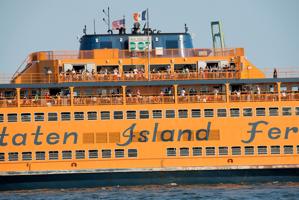 Staten Island Ferry,New York, USA