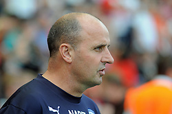 Chesterfield Manager, Paul Cook - photo mandatory by-line David Purday JMP- Tel: Mobile 07966 386802 09/08/14 - Leyton Orient v Chesterfield - SPORT - FOOTBALL - Sky Bet Leauge 1 - London -  Matchroom Stadium