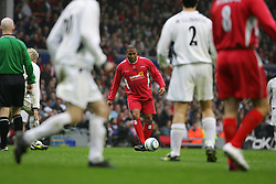 LIVERPOOL, ENGLAND - SUNDAY MARCH 27th 2005: Liverpool Legends' John Barnes during the Tsunami Soccer Aid match at Anfield. (Pic by David Rawcliffe/Propaganda)