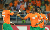 Serge Aurier -  Gervinho - Wilfried Bony  ( Cote D Ivoire )