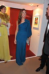 HEATHER KERZNER at the Raisa Gorbachev Foundation Gala held at the Stud House, Hampton Court, Surrey on 22nd September 22 2011