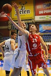PARTIZAN vs TAJFUN; Domen Bratoz of Tajfun<br /> Beograd, 20.11.2015.<br /> foto: Nebojsa Parausic<br /> <br /> Kosarka, Partizan, Tajfun, Jadranska ABA liga